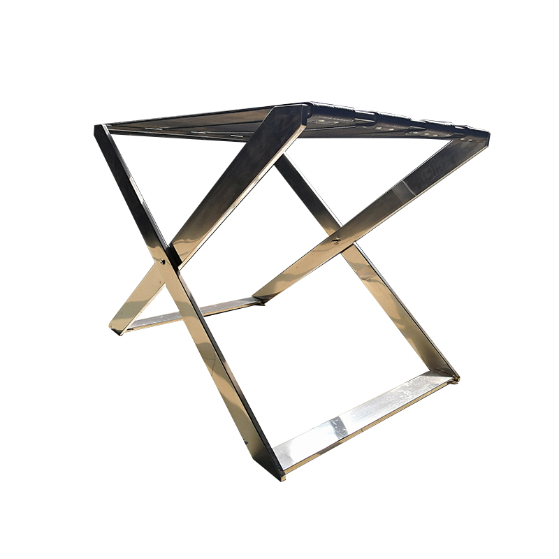 customized hotel luggage racks folding steel supplier for gym-4