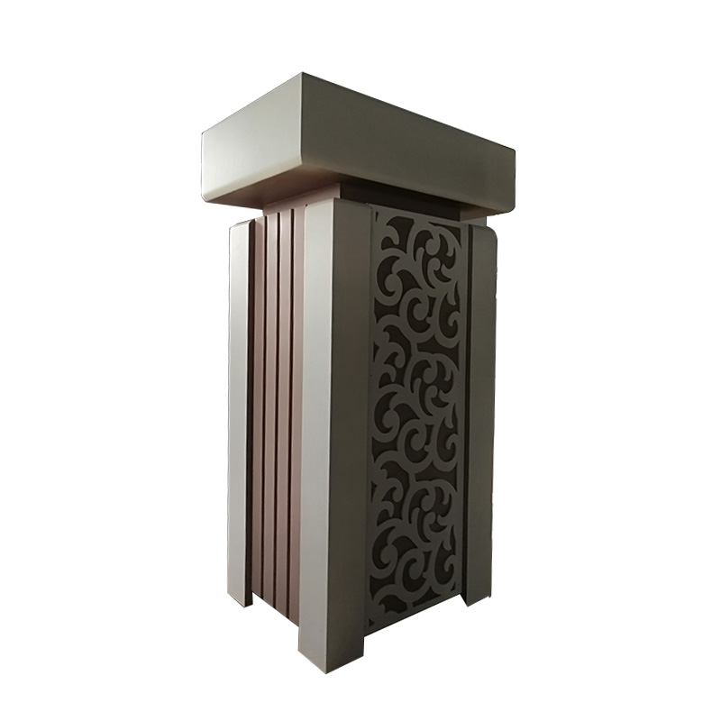 Fenghe-Portable Pulpit Stand Wooden Lectern Rostrum From Fenghe-1