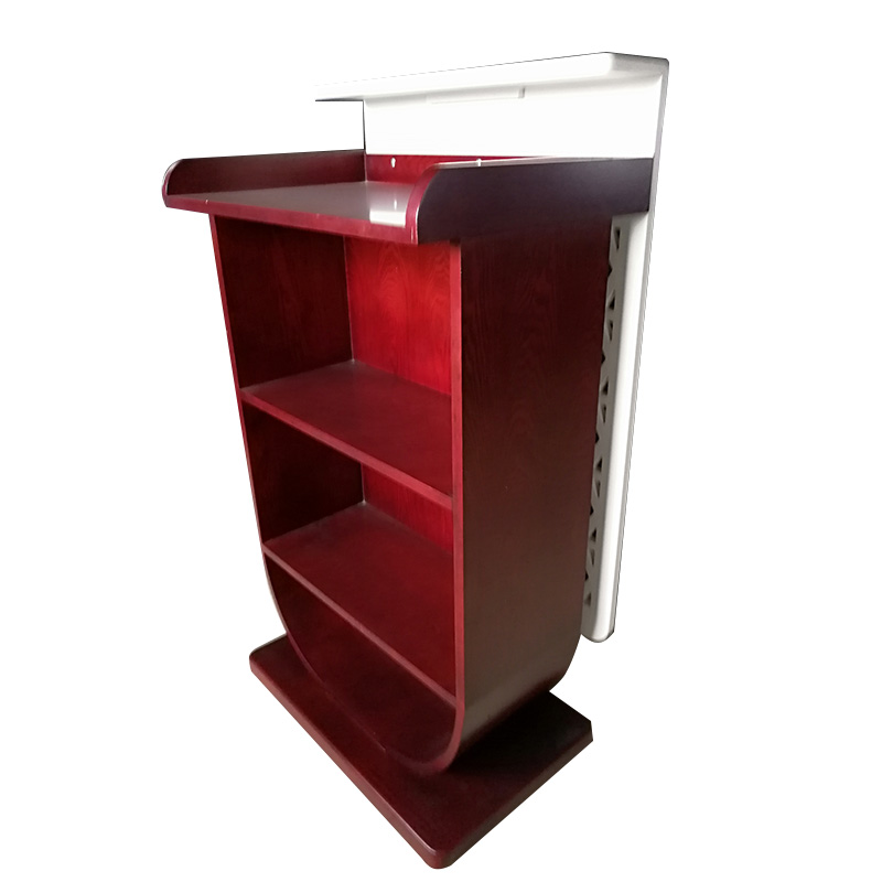 Fenghe-Manufacturer Of Wooden Lectern Hotel Wooden Rostrum For Speech-3