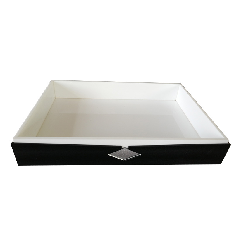 Fenghe-Professional Acrylic Bathroom Accessories Acrylic Tray With Insert