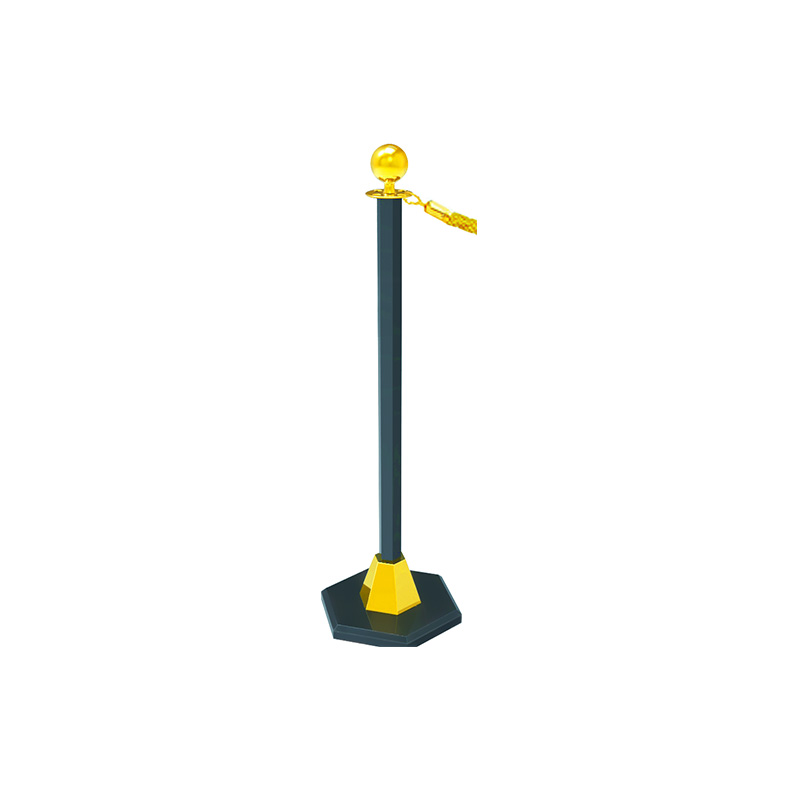 Fenghe-Barrier Stand | Hotel Hanging Golden Railing Stand Queue Rope-1