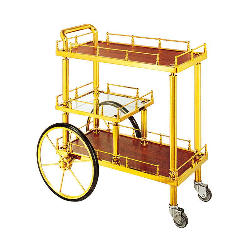 Hotel liquor trolley Luxury bar cart wine service trolley