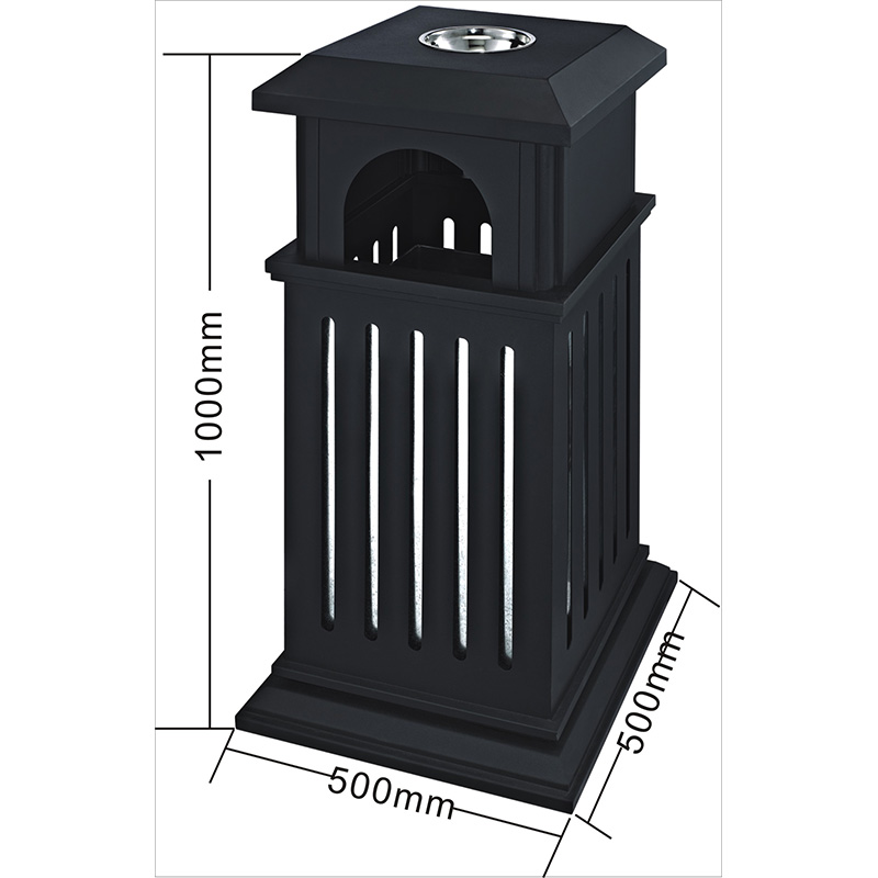 dedicated service outdoor bin iron chinese manufacturer for hotel-1