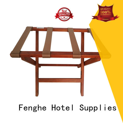 Hot hotel luggage racks foldable Fenghe Brand