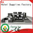 red black leather bin a4 for wholesale Fenghe