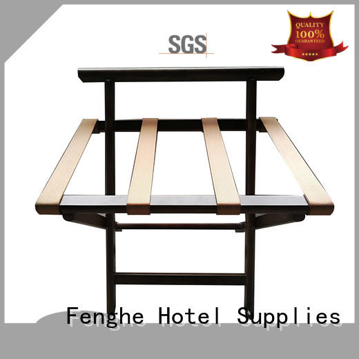 gym wood hotel luggage racks carrier Fenghe Brand company