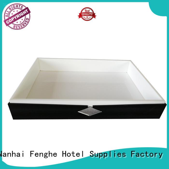 motel acrylic tray wholesale customized Fenghe company