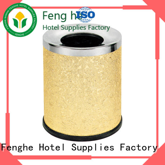 Fenghe ring waste paper bins for bedrooms quick transaction for hotel