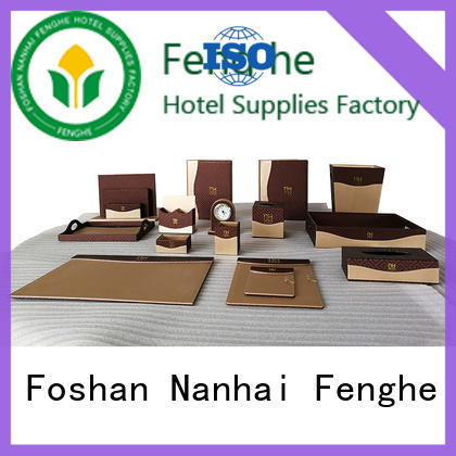 Fenghe elegant hotel amenity tray trader for wholesale