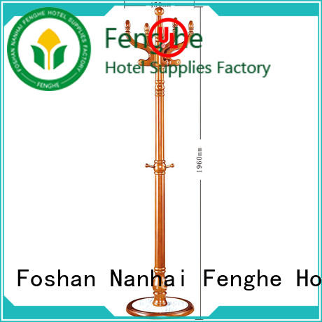 Fenghe 5 star service coat hook rack factory for churches