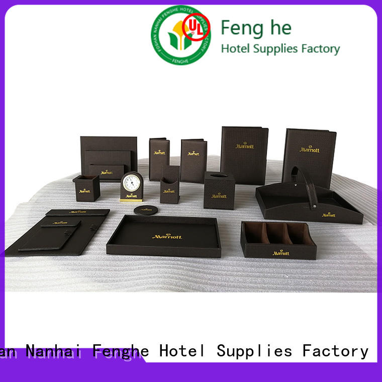 Fenghe unique design leather folder awarded supplier for wholesale