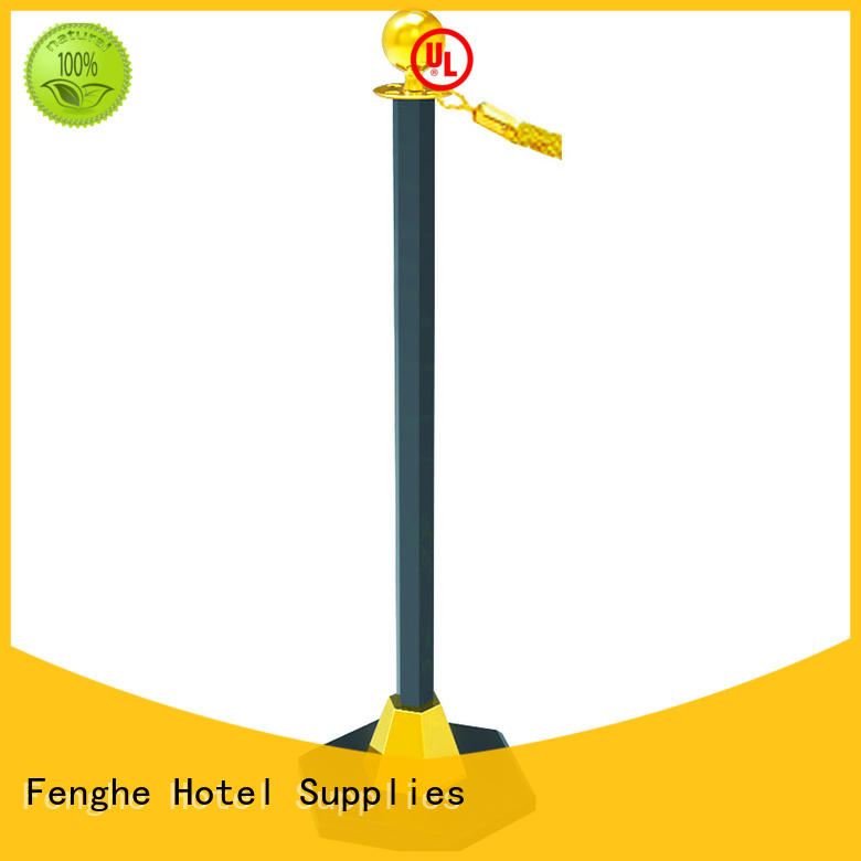 line barrier stanchion golden Fenghe Brand company