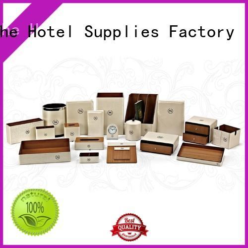 boxes holderpu holder customized leather storage bin Fenghe Brand