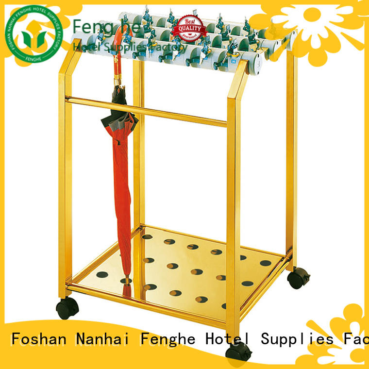 titanium vintage umbrella holder machine for hotel Fenghe