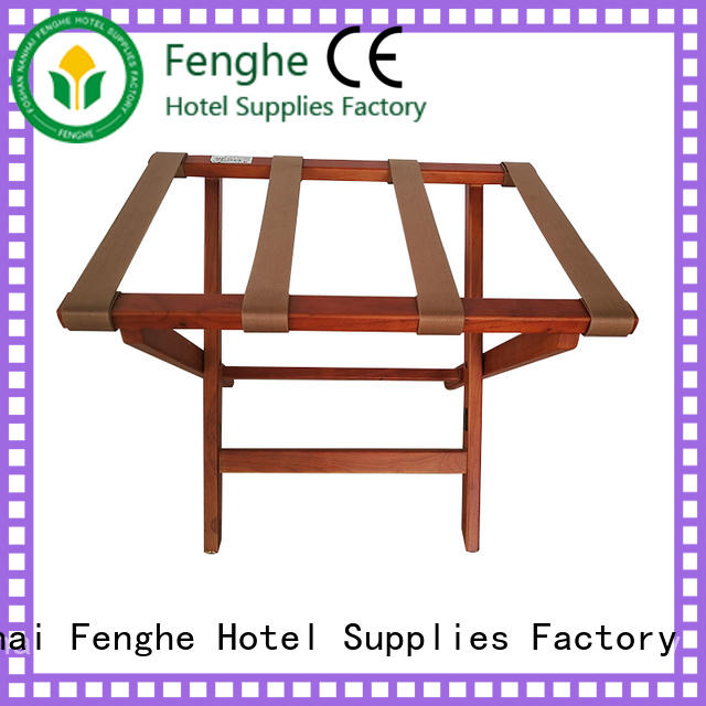 Fenghe high reliability‎ hotel suitcase rack solution expert for hotel