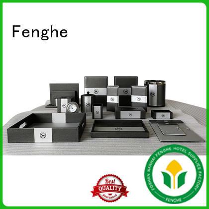 holderpu leather folder customized Fenghe company