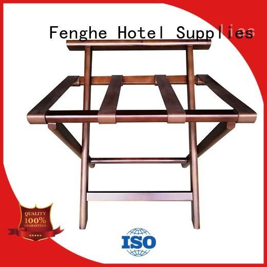 Fenghe Brand room modern luggage rack for hotel room