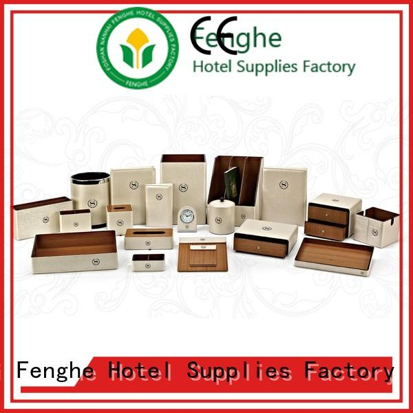 new leather writing folder yellow awarded supplier for hotel