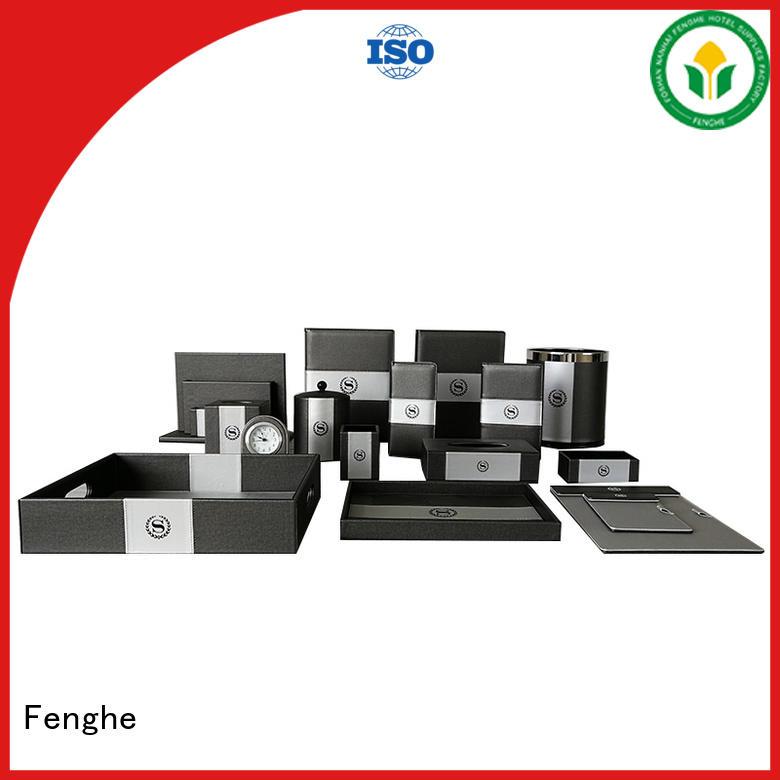 pu quality highend OEM leather folder Fenghe