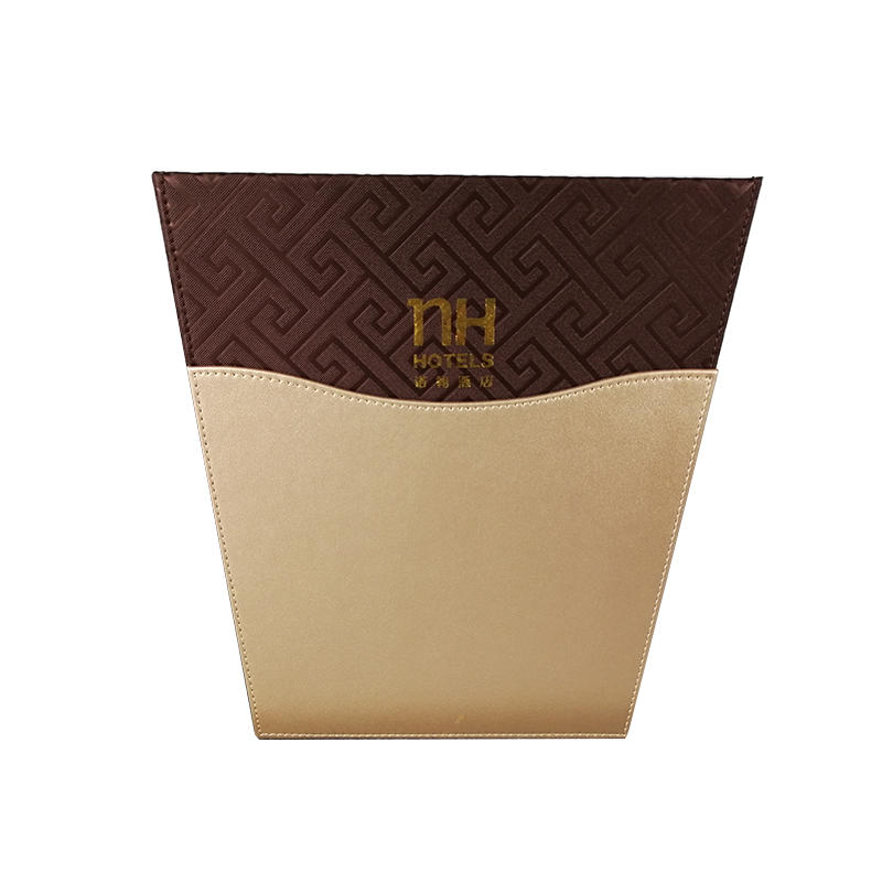 Fenghe-Bathroom Tray Manufacture | Customized Logo Hotel Leather Products,leather Folder-1