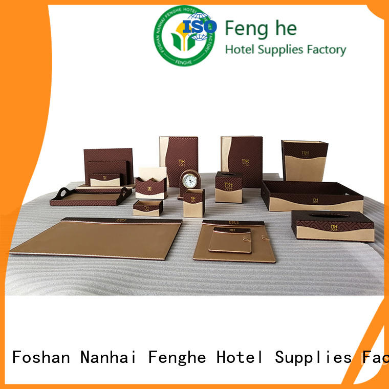 Fenghe room faux leather tissue box cover awarded supplier for wholesale
