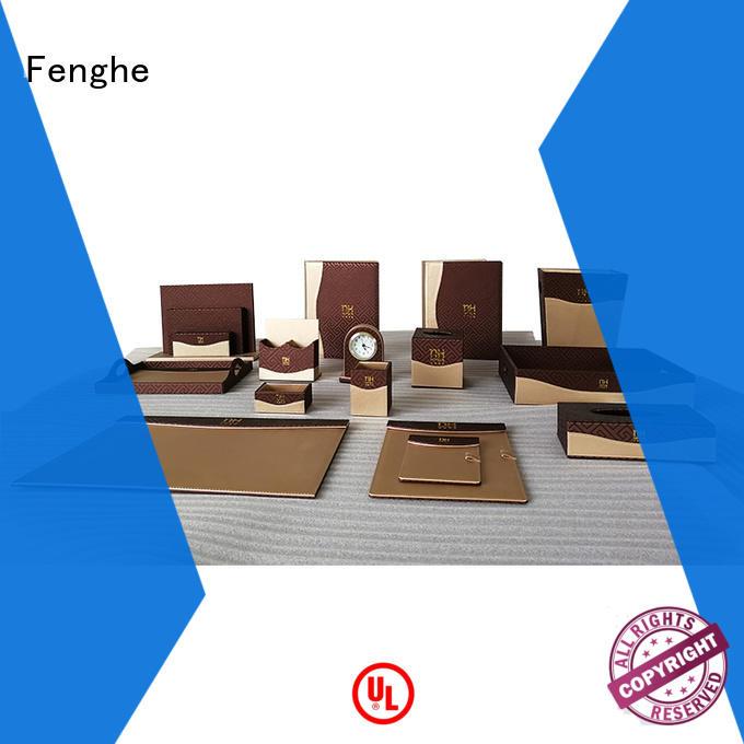 folder accessories customized leather folder Fenghe Brand