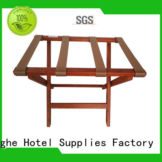 Fenghe Brand guest modern foldable luggage rack for hotel room