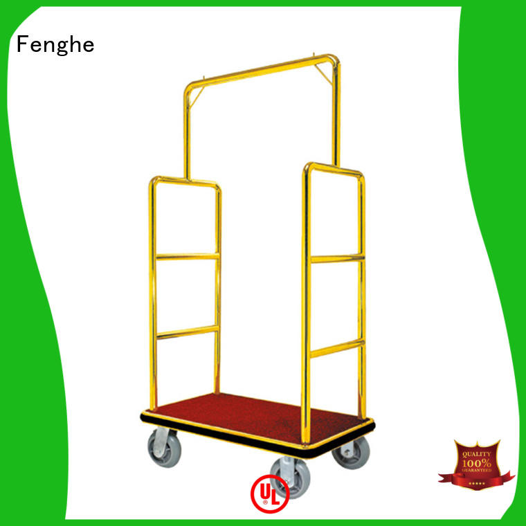 service luggage trolley top stainless Fenghe Brand