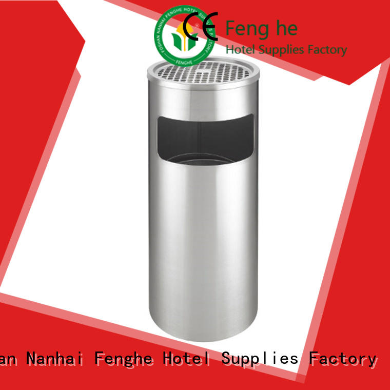 Fenghe 5 star service smoking dustbin overseas market for sale