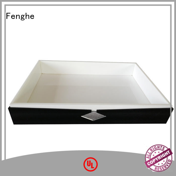 acrylic tray wholesale high-end motel Warranty Fenghe