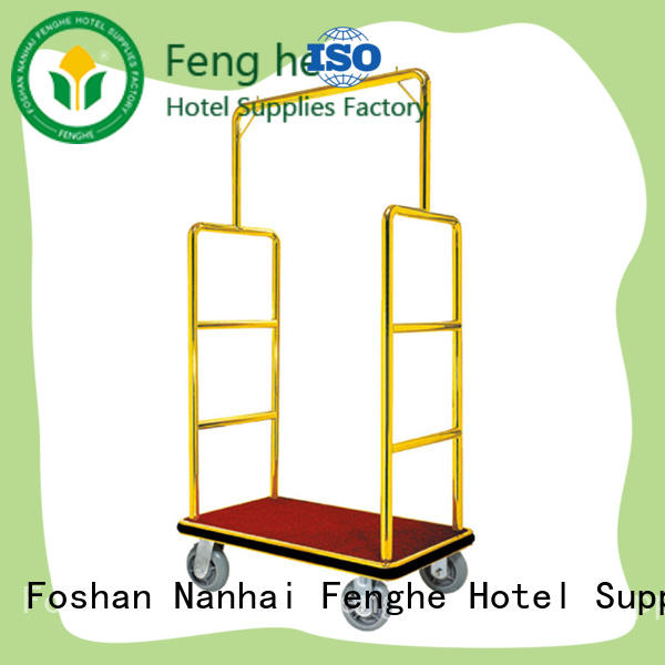 Fenghe OEM ODM bellmans cart source now for hotel