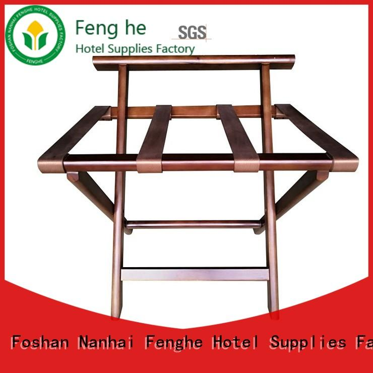 Fenghe dedicated service hotel style luggage rack wholesaler trader for campus