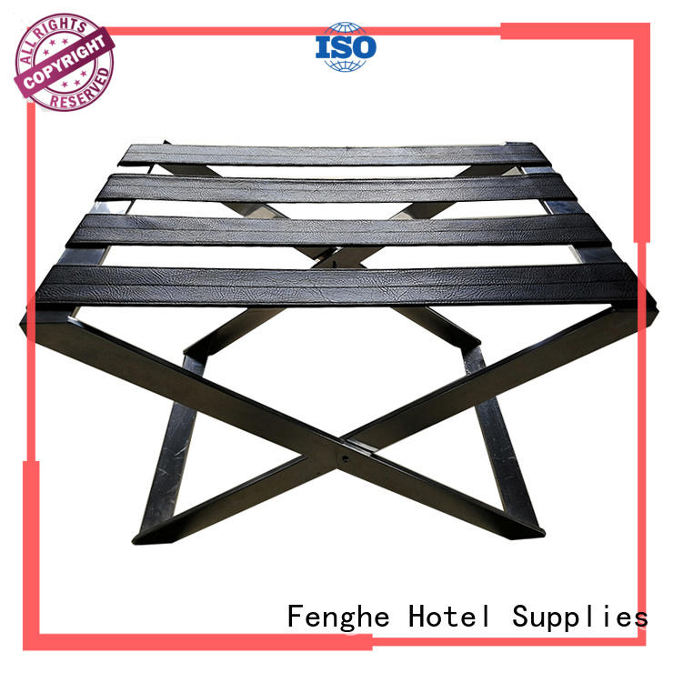 luggage rack for hotel room steel gym Fenghe Brand hotel luggage racks