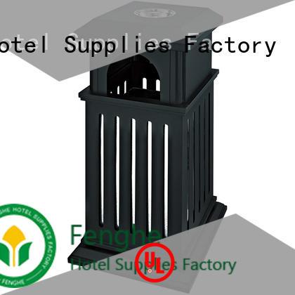 deluxe outdoor bin double factory for lobby