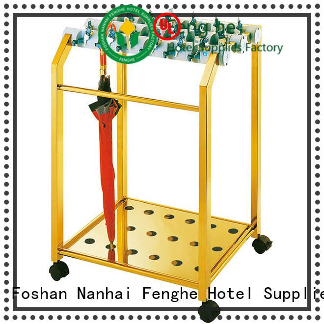 Fenghe barrel umbrella holder solution expert for motel