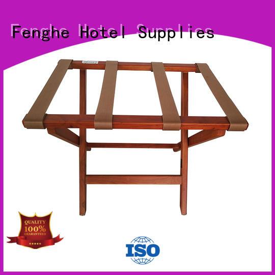 steel carrier OEM hotel luggage racks Fenghe