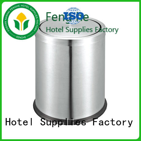 Fenghe rectangular hotel waste bins factory for importer