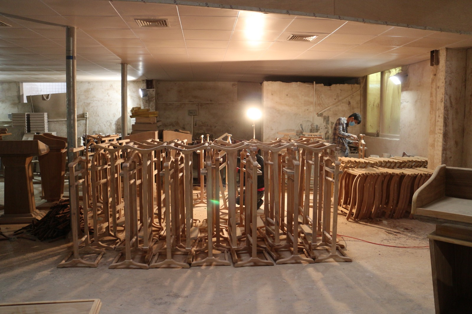 Fenghe metal custom pulpits for lecture halls-4