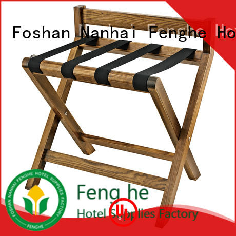 Fenghe portable hotel room luggage holder supplier for gym
