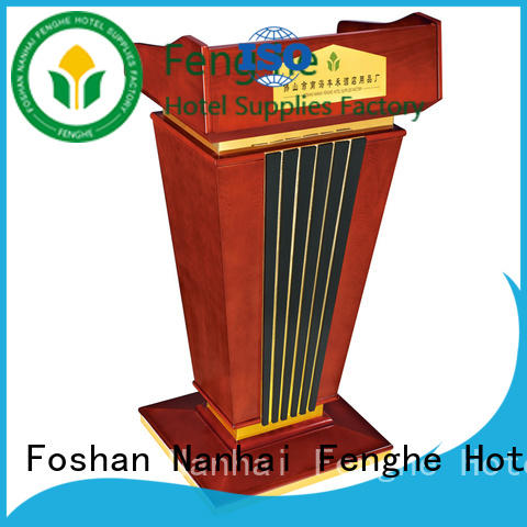 Fenghe 5 star service stage rostrum source now for conferences