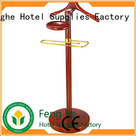 Fenghe low moq cloth hanger stand factory for bankquet halls