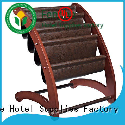 Fenghe most popular hotel newspaper rack quick transaction for importer