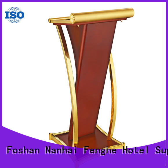 Fenghe stainless lectern for conferences