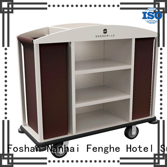 Fenghe maids hotel laundry cart factory for hotel