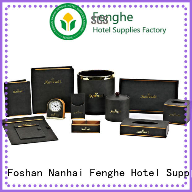 Fenghe boxes leather folder leading company for hotel