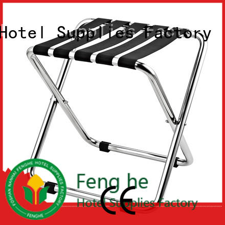 Fenghe high reliability‎ hotel suitcase holders solution expert for motel