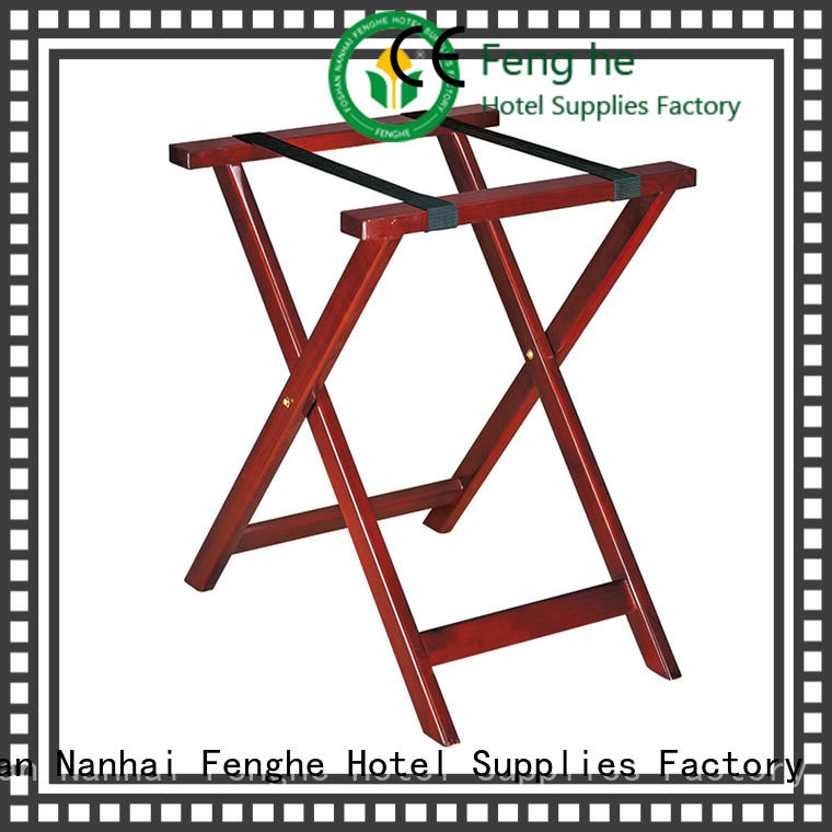 Fenghe portable hotel luggage racks supplier for gym