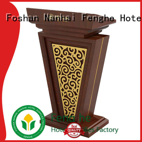 Fenghe hotel rostrum stand source now for hotel industry