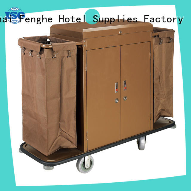 professional hotel cleaning cart modern factory