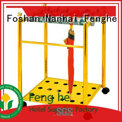 Fenghe high reliability umbrella holder supplier for motel